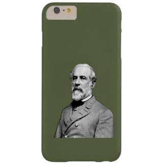 Coque iPhone 6 Plus Barely There Vert du Général Robert E. Lee USA Army