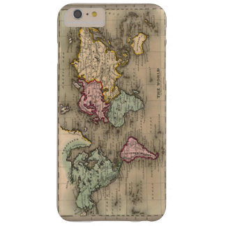 Coque iPhone 6 Plus Barely There (vieille caisse de carte globale)