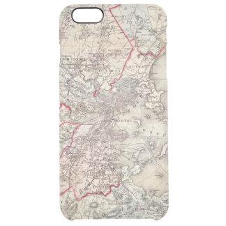 Coque iPhone 6 Plus Carte : Boston, 1883