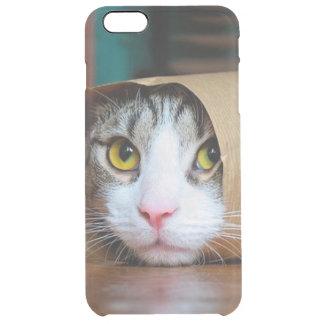 Coque iPhone 6 Plus Chat de papier - chats drôles - meme de chat -