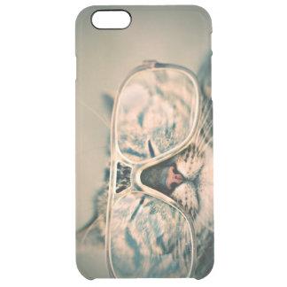 Coque iPhone 6 Plus Chat drôle avec des verres