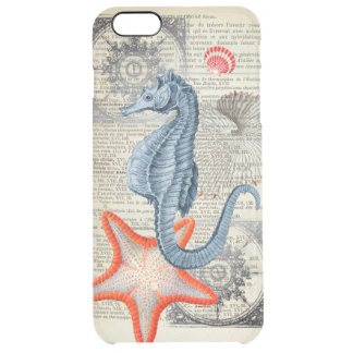 Coque iPhone 6 Plus Collage d'hippocampe
