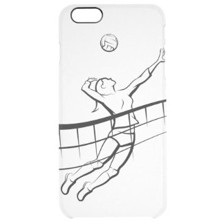 Coque iPhone 6 Plus Femelle de transitoire de volleyball