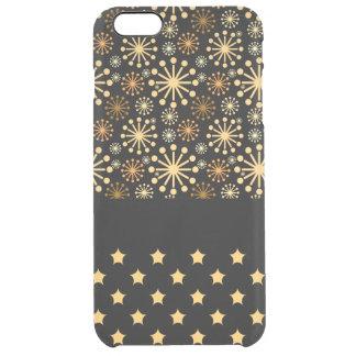 Coque iPhone 6 Plus Jolis flocons de neige et étoiles