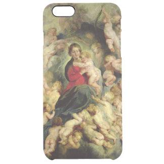 Coque iPhone 6 Plus La Vierge et l'enfant entourés