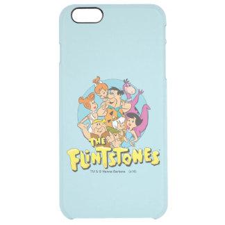 Coque iPhone 6 Plus Les Flintstones et le graphique de famille de