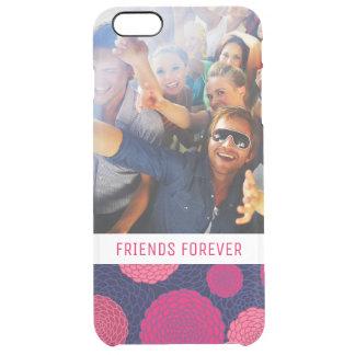 Coque iPhone 6 Plus Motif de fleurs rond faites sur commande de photo