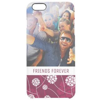 Coque iPhone 6 Plus Motif floral abstrait fait sur commande de photo