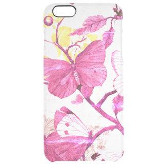 Coque iPhone 6 Plus Papillons roses sur une branche