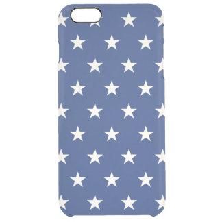 Coque iPhone 6 Plus Profil sous convention astérisque bleu et blanc