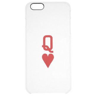 Coque iPhone 6 Plus Reine de l'iPhone 6/6S de coeurs plus le cas clair
