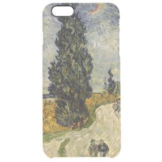 Coque iPhone 6 Plus Route de Vincent van Gogh | avec des cyprès, 1890
