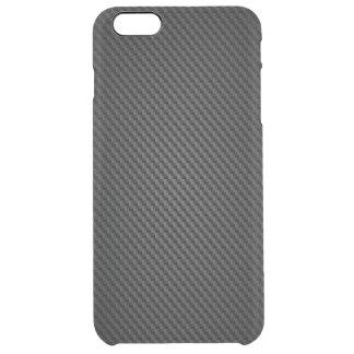 Coque iPhone 6 Plus Texture noire de synthétique de Para-aramid