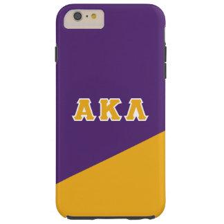 Coque iPhone 6 Plus Tough Alpha lettres de Grec du Kappa lambda |