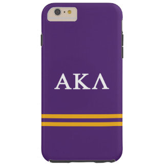 Coque iPhone 6 Plus Tough Alpha rayure de sport du Kappa lambda |