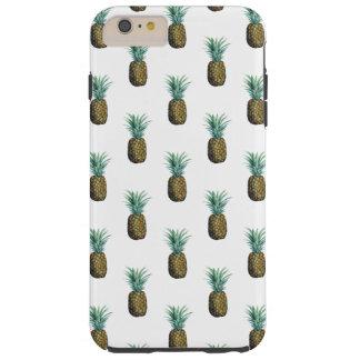 Coque iPhone 6 Plus Tough Aquarelle tropicale d'ananas