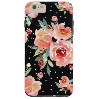 Coque iPhone 6 Plus Tough Caisse de fleur de baie de neige