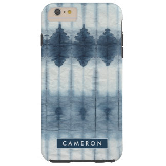 Coque iPhone 6 Plus Tough Copie de Shibori Indigio