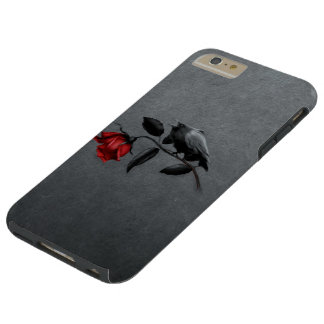 Coque iPhone 6 Plus Tough Corneille gothique sur le cas plus de l'iPhone 6