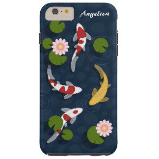 Coque iPhone 6 Plus Tough Étang à poissons de Koi de Japonais