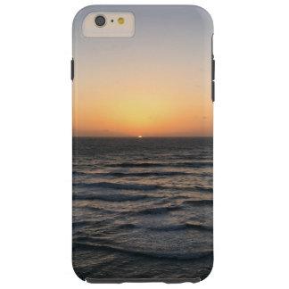 Coque iPhone 6 Plus Tough iPhone 6/6 de coucher du soleil de plage plus