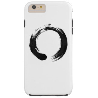 Coque iPhone 6 Plus Tough iPhone 6 de cercle d'Enso plus, dur