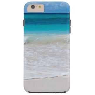 Coque iPhone 6 Plus Tough Plage et mer tropicales blanches