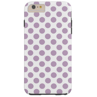 Coque iPhone 6 Plus Tough Pois lilas