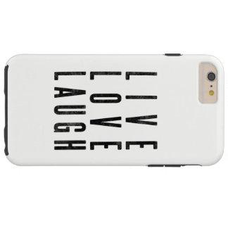 Coque iPhone 6 Plus Tough Rire vivant d'amour
