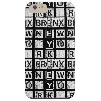 Coque iPhone 6 Plus Tough Typographie grunge de Bronx New York |