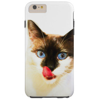 Coque iPhone 6 Plus Tough Yum cas de téléphone de Kitty