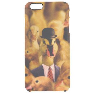 Coque iPhone 6 Plus Un canard dans un casquette de lanceur et un