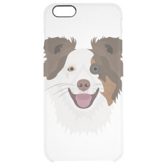 Coque iPhone 6 Plus Visage heureux border collie de chiens