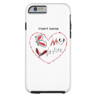 Coque iPhone 6 Tough Abeille mon valentine