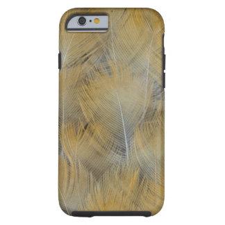 Coque iPhone 6 Tough Abrégé sur d'or plume de grive