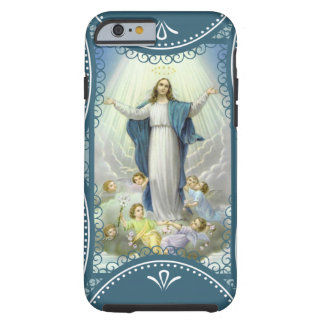 Coque iPhone 6 Tough Acceptation de Vierge Marie béni