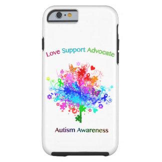 Coque iPhone 6 Tough Arbre d'autisme dans le spectre
