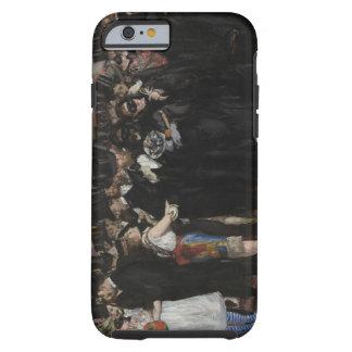Coque iPhone 6 Tough Boule masquée de Manet | à l'opéra, 1873