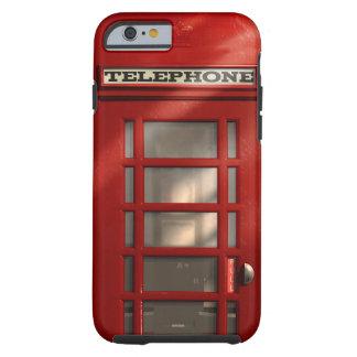 Coque iPhone 6 Tough Cabine téléphonique rouge britannique vintage