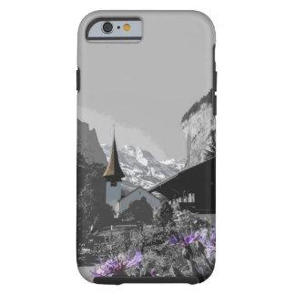 Coque iPhone 6 Tough cas de la Suisse Lauterbrunnen d'iPhone