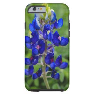 Coque iPhone 6 Tough Cas de l'iPhone 6/6s de fleur de Bluebonnet de