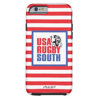 Coque iPhone 6 Tough Cas de téléphone de sud de rugby d'Iphone 6/6S