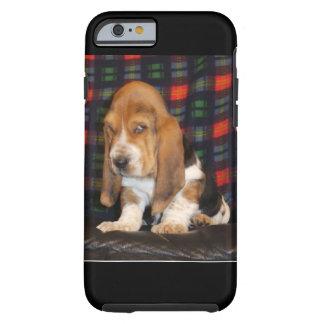 Coque iPhone 6 Tough Cas de téléphone portable de Basset Hound