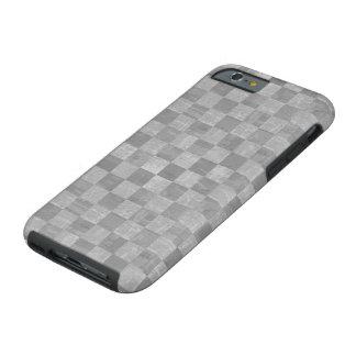 Coque iPhone 6 Tough Cas dur grunge Checkered de l'iPhone 6