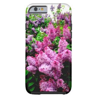 Coque iPhone 6 Tough Cas lilas vibrant de téléphone