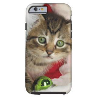 Coque iPhone 6 Tough Chat de Noël - chat de chaton - chats mignons