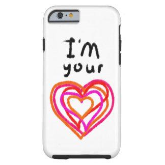 Coque iPhone 6 Tough Coeur