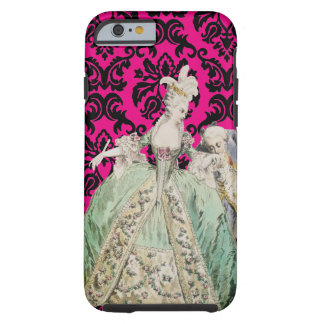 Coque iPhone 6 Tough COULEUR de CHANGEMENT de Marie Antoinette -