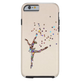 Coque iPhone 6 Tough Danseur scintillant