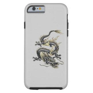 Coque iPhone 6 Tough Dragon métallique